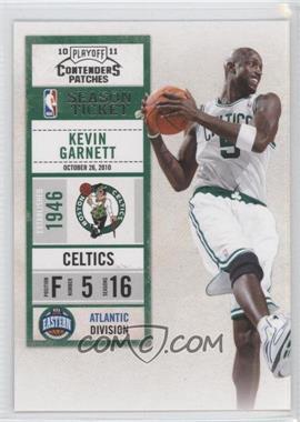 2010-11 Playoff Contenders #55 - Kevin Garnett