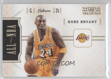 2010-11 Playoff National Treasures - All-NBA #23 - Kobe Bryant /25