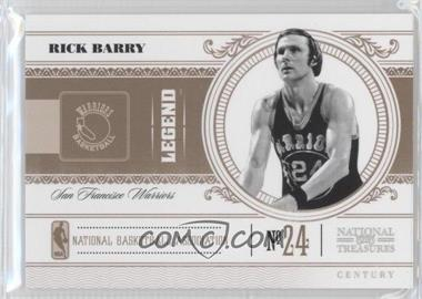 2010-11 Playoff National Treasures - [Base] - Century Silver #171 - Rick Barry /10