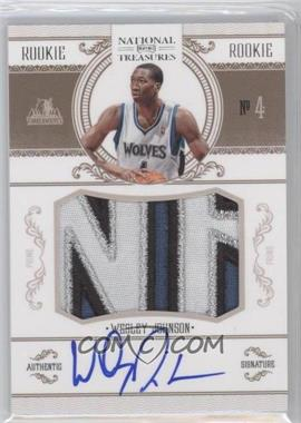 2010-11 Playoff National Treasures - [Base] #204 - Wesley Johnson /99