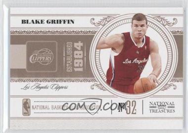 2010-11 Playoff National Treasures - [Base] #40 - Blake Griffin /99