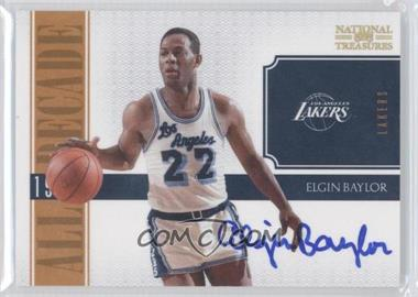 2010-11 Playoff National Treasures All Decade Signatures [Autographed] #3 - Elgin Baylor /25