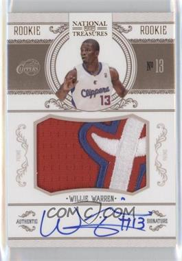 2010-11 Playoff National Treasures Century Gold #234 - Willie Warren /25