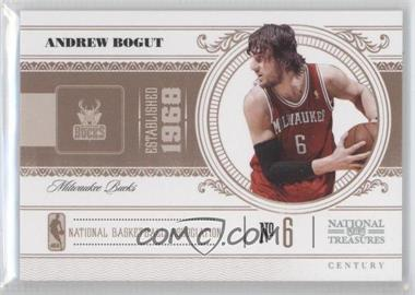 2010-11 Playoff National Treasures Century Silver #55 - Andrew Bogut /10