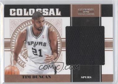 2010-11 Playoff National Treasures Colossal Materials #40 - Tim Duncan /99