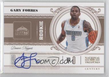 2010-11 Playoff National Treasures Signatures [Autographed] #190 - Gary Forbes /99