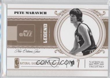 2010-11 Playoff National Treasures #110 - Pete Maravich /99