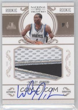 2010-11 Playoff National Treasures #204 - Wesley Johnson /99