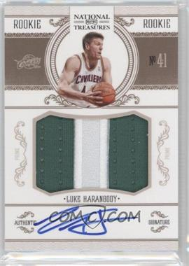 2010-11 Playoff National Treasures #233 - Luke Harangody /99