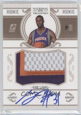 2010-11 Playoff National Treasures #235 - Gani Lawal /99