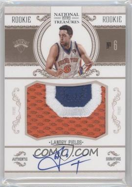 2010-11 Playoff National Treasures #238 - Landry Fields /99