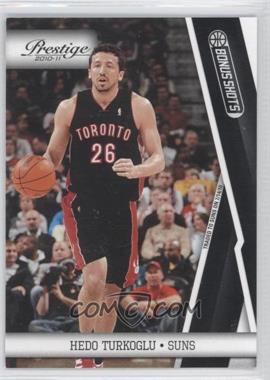 2010-11 Prestige - [Base] - Bonus Shots Black #111 - Hedo Turkoglu /10