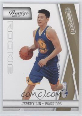 2010-11 Prestige - [Base] - Bonus Shots Gold #187 - Jeremy Lin /249