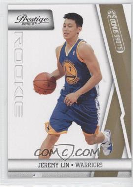 2010-11 Prestige - [Base] - Bonus Shots Gold #187 - Jeremy Lin /249