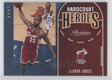 2010-11 Prestige - Hardcourt Heroes #1 - Lebron James