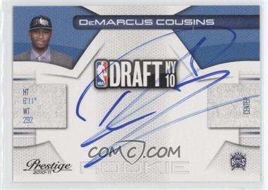 2010-11 Prestige - NBA Draft Class - Signatures [Autographed] #5 - DeMarcus Cousins /299