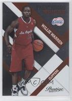 Willie Warren /299
