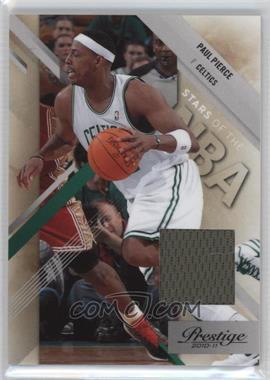 2010-11 Prestige - Stars of the NBA - Materials [Memorabilia] #5 - Paul Pierce /249
