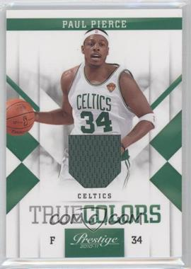 2010-11 Prestige - True Colors - Materials [Memorabilia] #3 - Paul Pierce /249