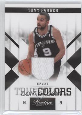 2010-11 Prestige - True Colors - Materials [Memorabilia] #5 - Tony Parker /249