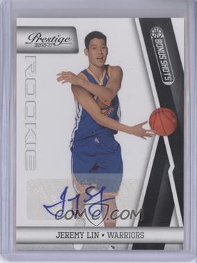 2010-11 Prestige Bonus Shots Black Autographs [Autographed] #210 - Jeremy Lin /99