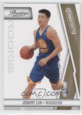 2010-11 Prestige Bonus Shots Gold #187 - Jeremy Lin /249