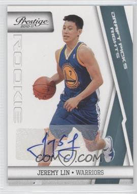 2010-11 Prestige Draft Picks Rights Autographs [Autographed] #187 - Jeremy Lin /199
