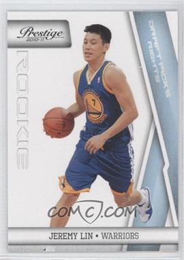 2010-11 Prestige Draft Picks Rights Light Blue #187 - Jeremy Lin /999