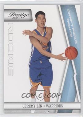 2010-11 Prestige Draft Picks Rights Light Blue #210 - Jeremy Lin /999