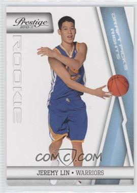 2010-11 Prestige Draft Picks Rights Light Blue #210 - Jeremy Lin /999