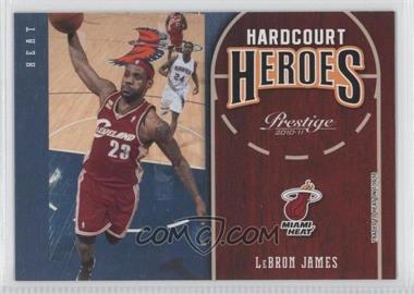 2010-11 Prestige Hardcourt Heroes #1 - Lebron James