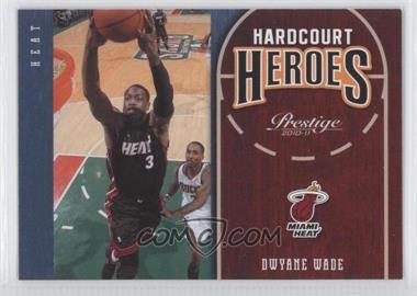 2010-11 Prestige Hardcourt Heroes #10 - Dwyane Wade
