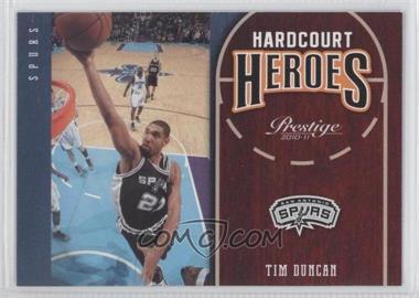2010-11 Prestige Hardcourt Heroes #13 - Tim Duncan