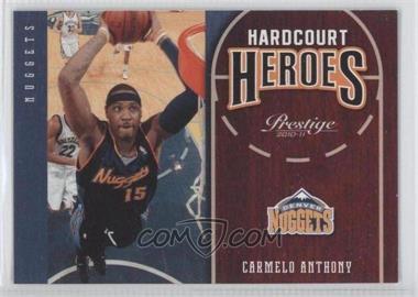 2010-11 Prestige Hardcourt Heroes #14 - Carmelo Anthony