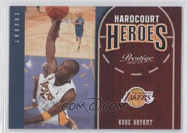 2010-11 Prestige Hardcourt Heroes #15 - Kobe Bryant