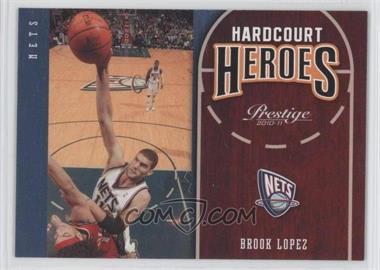 2010-11 Prestige Hardcourt Heroes #20 - Brook Lopez