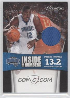 2010-11 Prestige Inside the Numbers Materials [Memorabilia] #3 - Dwight Howard /249