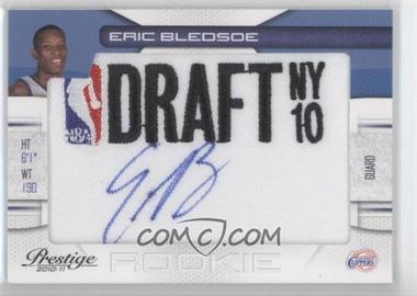 2010-11 Prestige NBA Draft Class Draft Logo Patch Autographs [Autographed] #18 - Eric Bledsoe /399