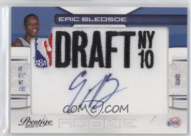 2010-11 Prestige NBA Draft Class Draft Logo Patch Autographs [Autographed] #18 - Eric Bledsoe /399
