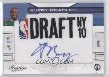 2010-11 Prestige NBA Draft Class Draft Logo Patch Autographs [Autographed] #19 - Avery Bradley /396
