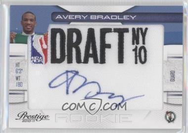2010-11 Prestige NBA Draft Class Draft Logo Patch Autographs [Autographed] #19 - Avery Bradley /396