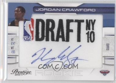 2010-11 Prestige NBA Draft Class Draft Logo Patch Autographs [Autographed] #27 - Jordan Crawford /499