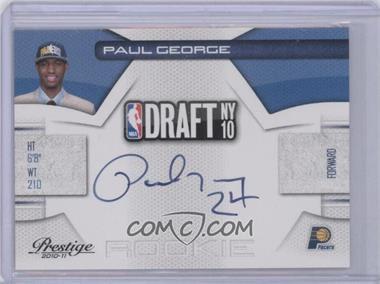 2010-11 Prestige NBA Draft Class Signatures [Autographed] #10 - Paul George /299