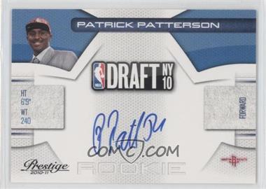 2010-11 Prestige NBA Draft Class Signatures [Autographed] #14 - Patrick Patterson /299