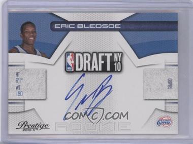 2010-11 Prestige NBA Draft Class Signatures [Autographed] #18 - Eric Bledsoe /297