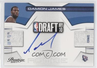 2010-11 Prestige NBA Draft Class Signatures [Autographed] #24 - Damion James /299