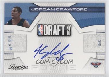 2010-11 Prestige NBA Draft Class Signatures [Autographed] #27 - Jordan Crawford /299