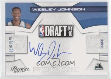 2010-11 Prestige NBA Draft Class Signatures [Autographed] #4 - Wesley Johnson /299