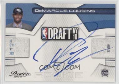 2010-11 Prestige NBA Draft Class Signatures [Autographed] #5 - DeMarcus Cousins /299