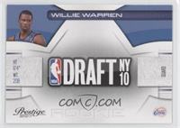 Willie Warren /499